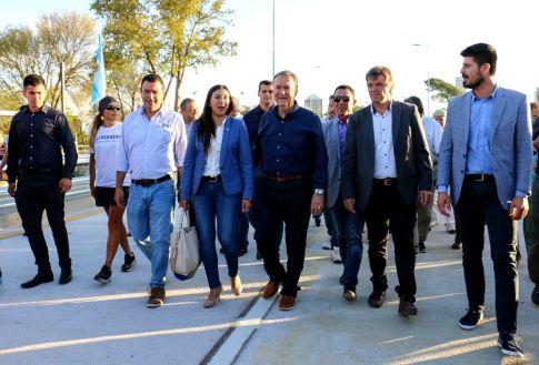 """Schiaretti inauguró el Puente """"Gobernador Ricardo Obregón Cano"""""""