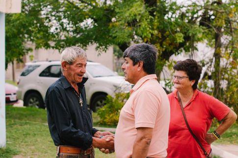 Elecciones Municipales: Caminando por los barrios, hablando con los vecinos...
