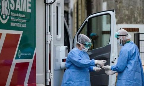 CORONAVIRUS: En Argentina siguen subiendo los números de muertos y contagiados
