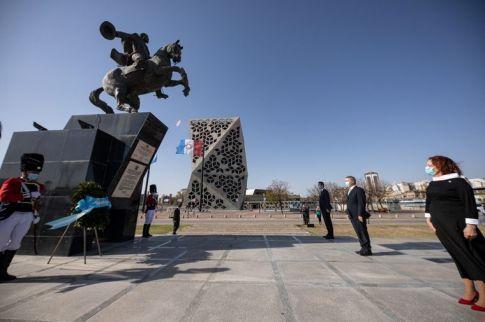 La Provincia homenajeó a Bustos, primer Gobernador constitucional de Córdoba