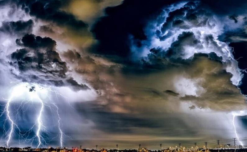 Alerta por tormenta con fuertes ráfagas de viento y copiosas lluvias para esta noche en el sur de Córdoba