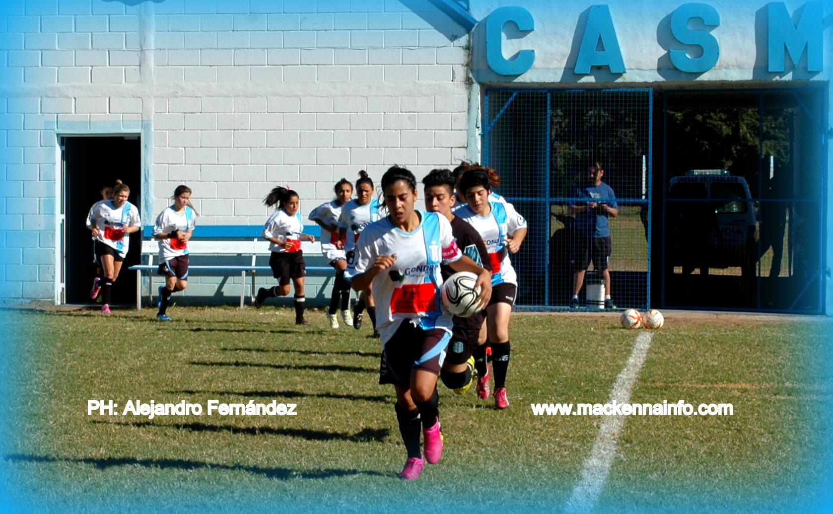 Fútbol Femenino: con nuevo técnico San Martín comenzó con los entrenamientos