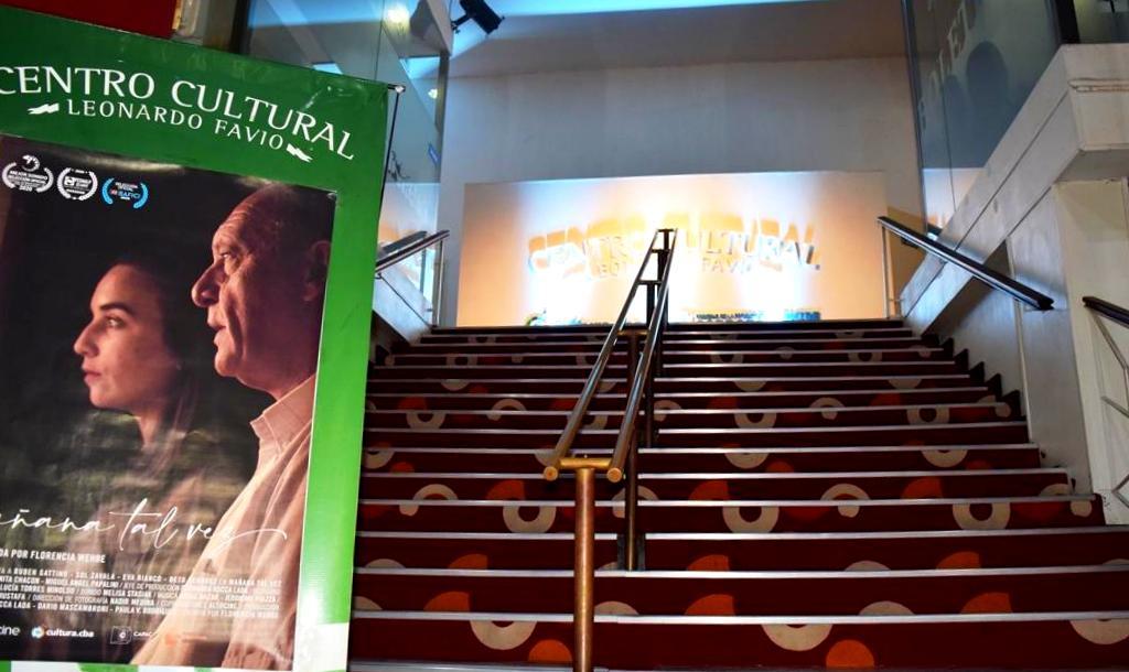 Estreno y reapertura del Centro Cultural Leonardo Favio con la película Mañana tal vez