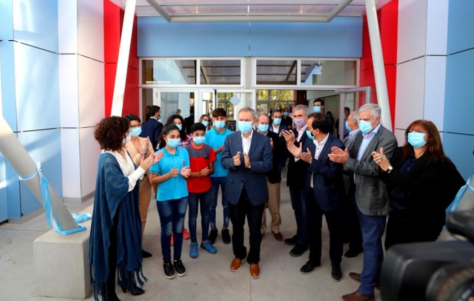 Río Cuarto: Schiaretti inauguró el edificio de la escuela ProA
