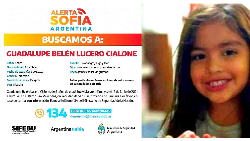 Caso Guadalupe: a cuatro meses de su desaparición convocan a una nueva marcha